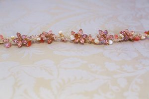 headpiece by wildflower couture
