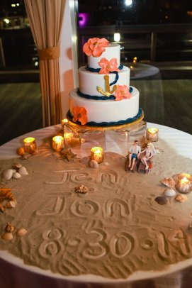 one of my fave details-the cake table